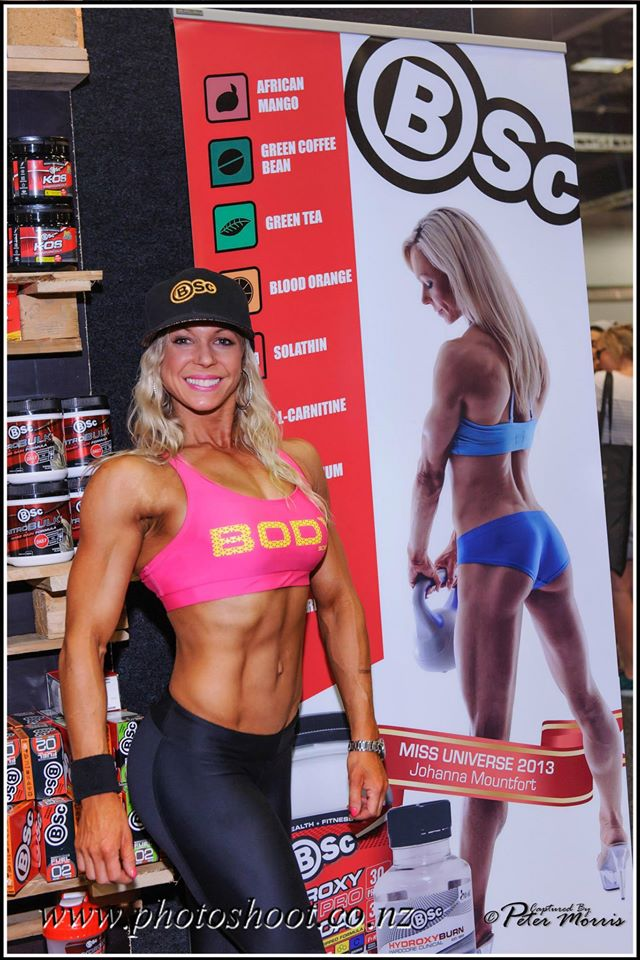 NZ fitness Expo appearance