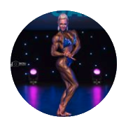 Instagram profile for female bodybuilding coaching