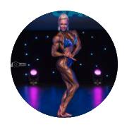 Instagram profile for female bodybuilding coaching