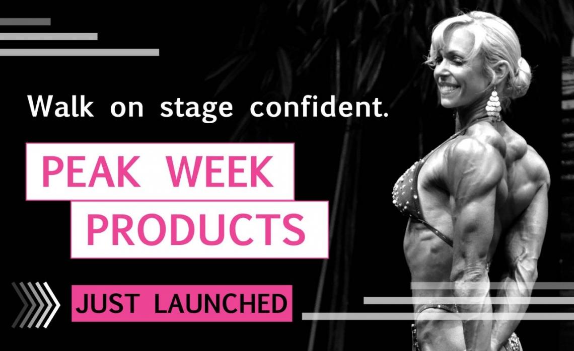 Bodybuilding peak week plans