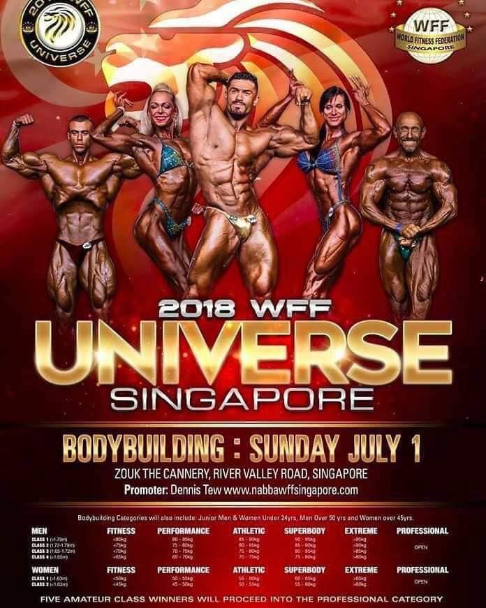 2018 WFF Universe Singapore