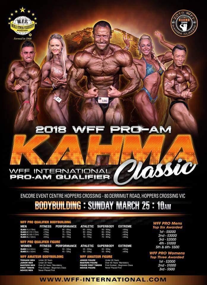2018 WFF Pro-AM Kahma Classic