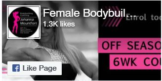Female BodyBuilding Facebook