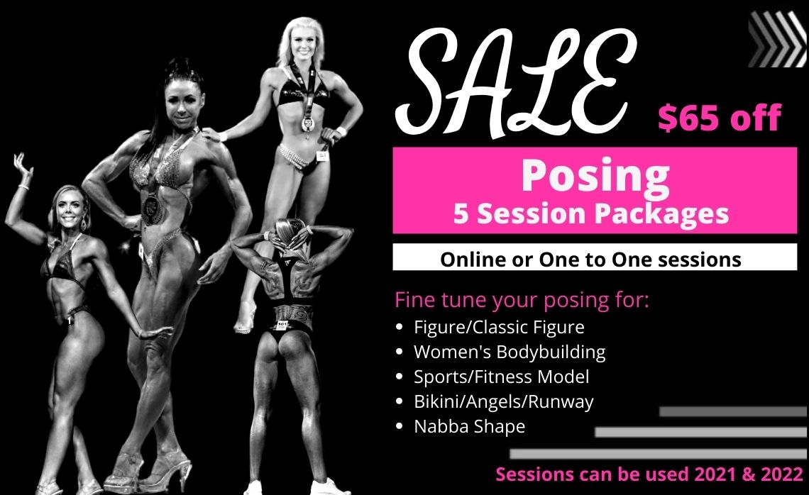 Johanna Mountfort posing package on sale